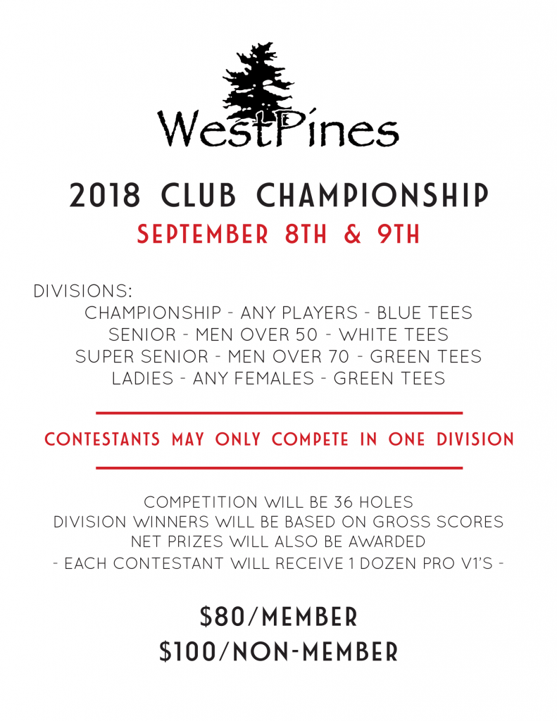 2018 Club Championship Flyer-1